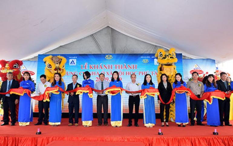Khánh thành Cao ốc chung cư nhà ở xã hội HQC Phú Tài