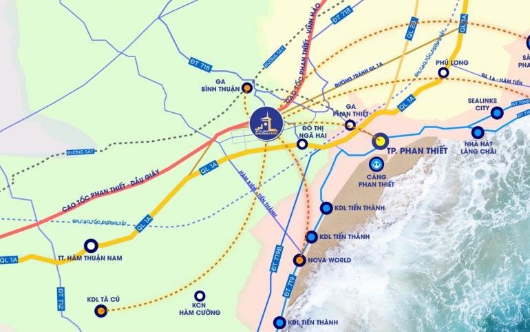 BĐS Phan Thiết hưởng 'sức nóng' từ sân bay Long Thành